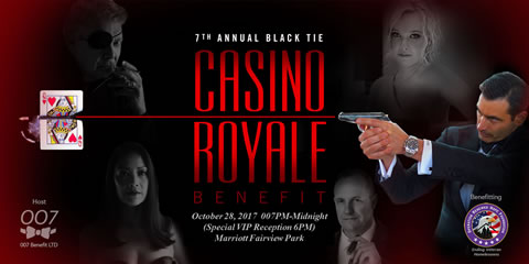 007 Casino Royale Event Banner