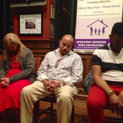 Nancy Guglielmo, Norman Driver and Jonathan Hall under hypnosis