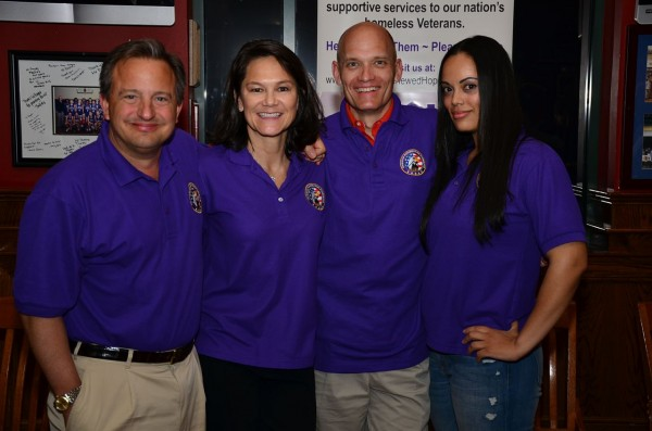 "Karl Williams, Kim Young, Dave Horton and Jennifer Lopez at the ""Hypnotic Experience"" sponsored by Operation Renewed Hope Foundation."