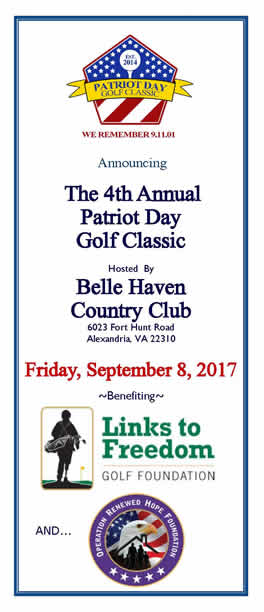 Patriot Day Golf Classic 2017