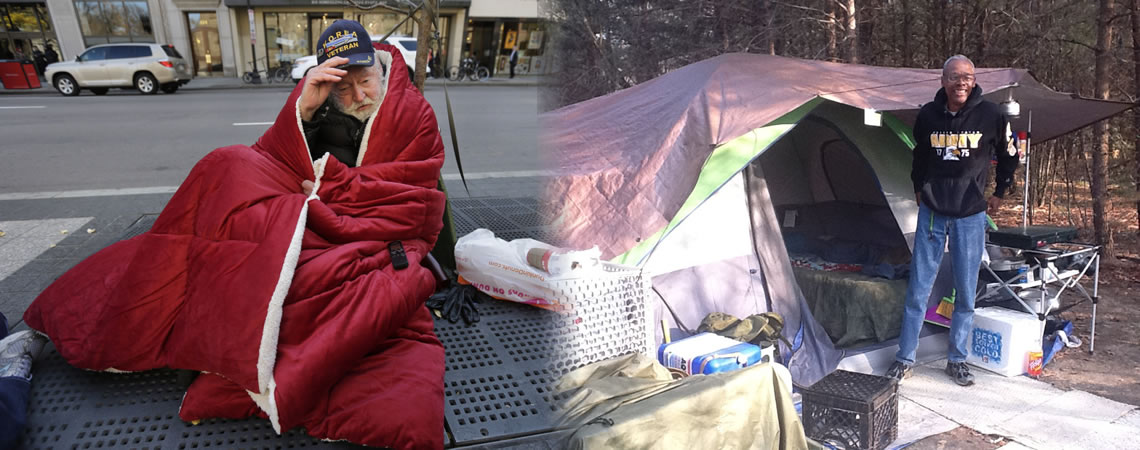 58,000 Veterans Experiencing Homelessness