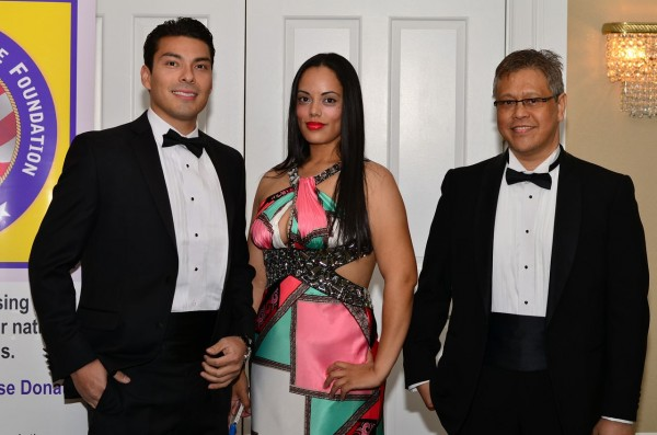 Victor Salas, Jennifer Lopez and Silvestre Acedillo